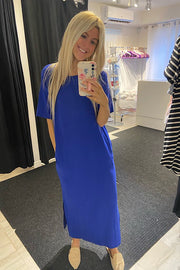 The Perfect Summer Dress- Royal Blue