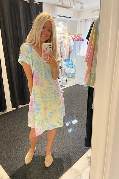 Summer Lovin T-Shirt Dress
