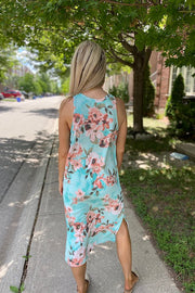 Mint Floral Endless Sunsets
