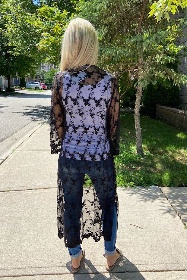 Sheer Love Lace Cardigan