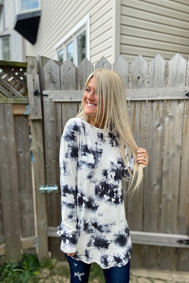 Beautiful Buttery Tie Dye Top