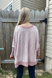 Pre Order Burgundy Soft Dreams Boho Top