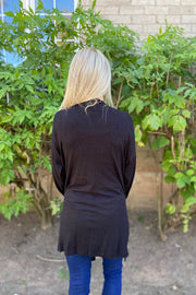 The Beth Classic Soft Black Cardigan