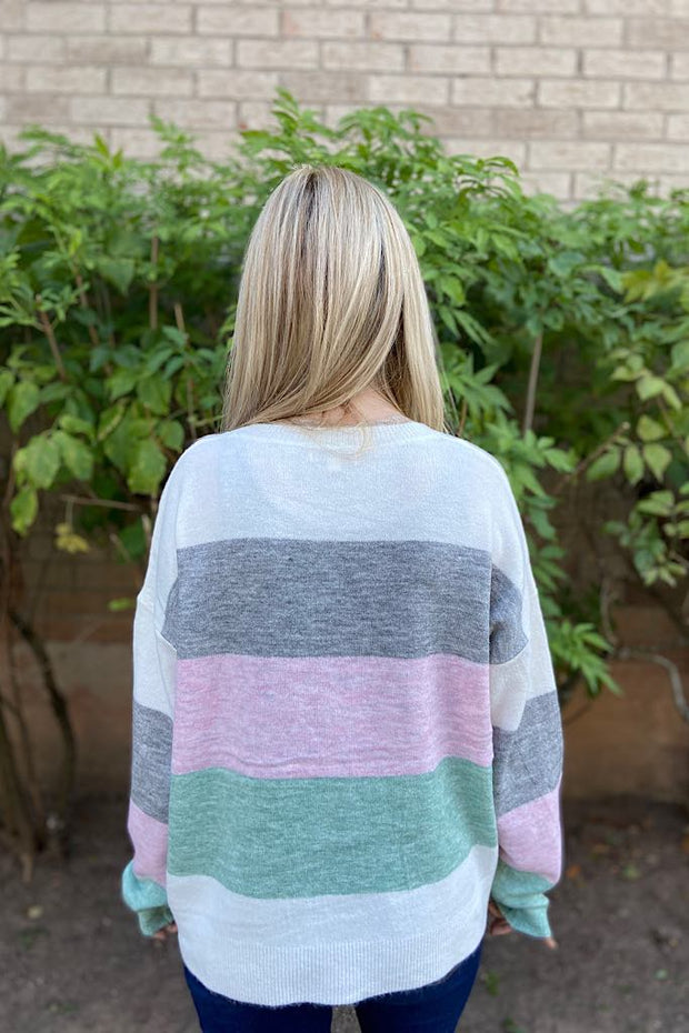 Honey Bunny Colour Block Sweater