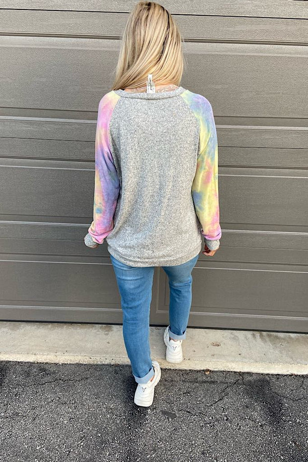 Dreams Are Made Of Tie Dye Top