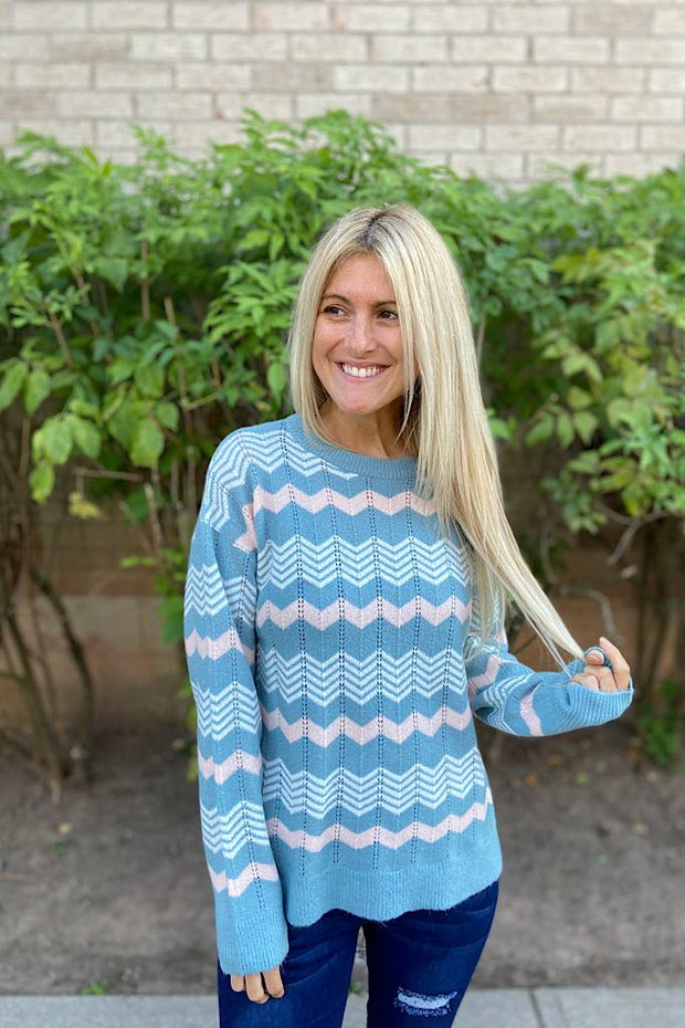 The Wow Elite Chevron Sweater
