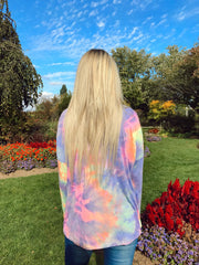 Pre Order Brighten Your Day Tie Dye Top