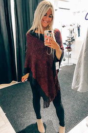 Shimmer Poncho-2 Colours