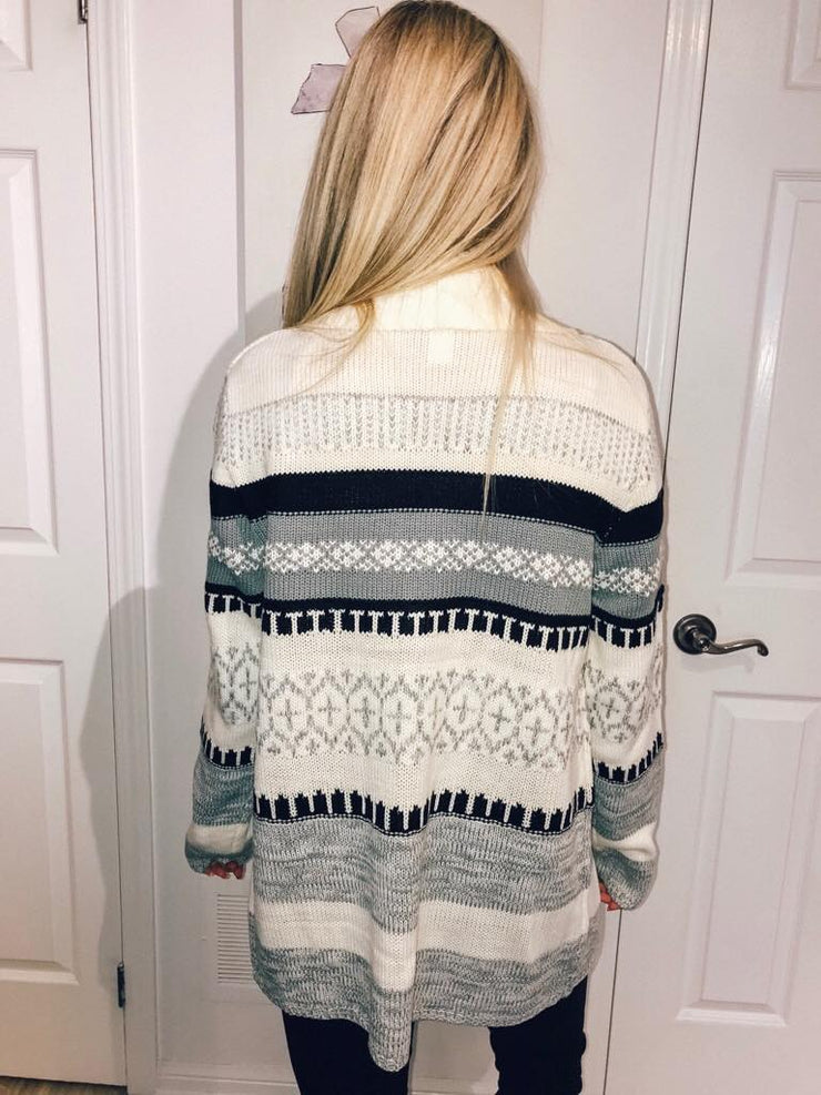 Pre Order Winter Wonderland Cardigan
