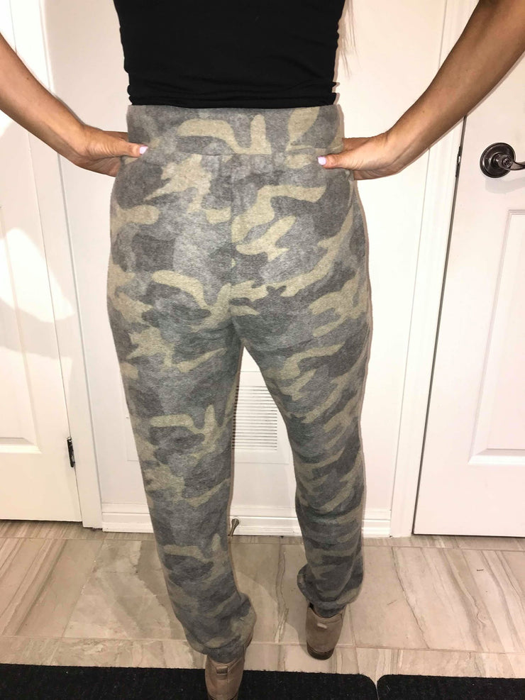 Camo Soft Brushed Joggers