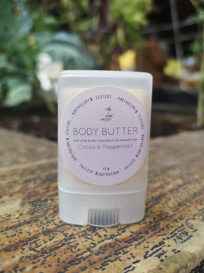 Chocolate peppermint body butter-0.4 oz