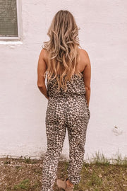 Exotic Leopard Jumpsuit