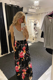 The Lana Maxi Dress- New Colour Black Floral