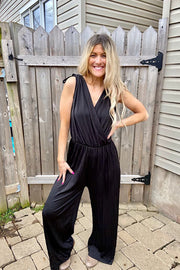 Date Night Black Jumpsuit