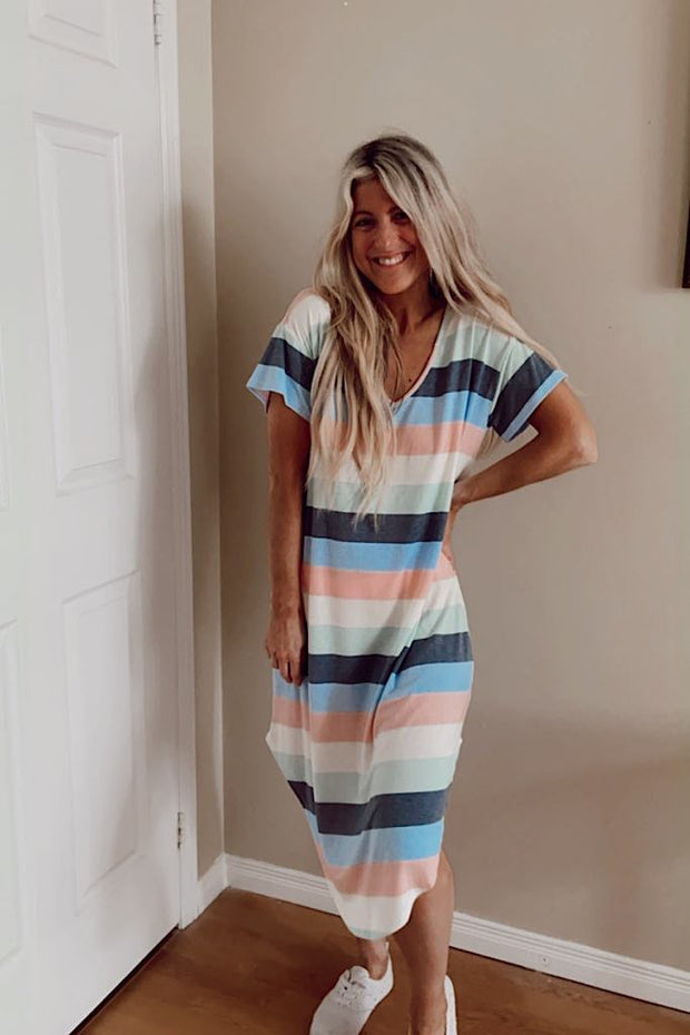 Kinsley Striped Dress- 2 New Colours