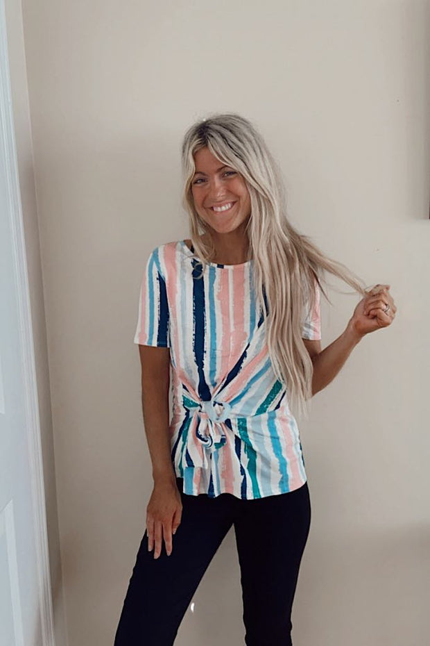 Pretty Lola Soft Tie Top
