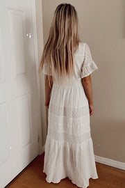 The OMG Off White Summer Dress