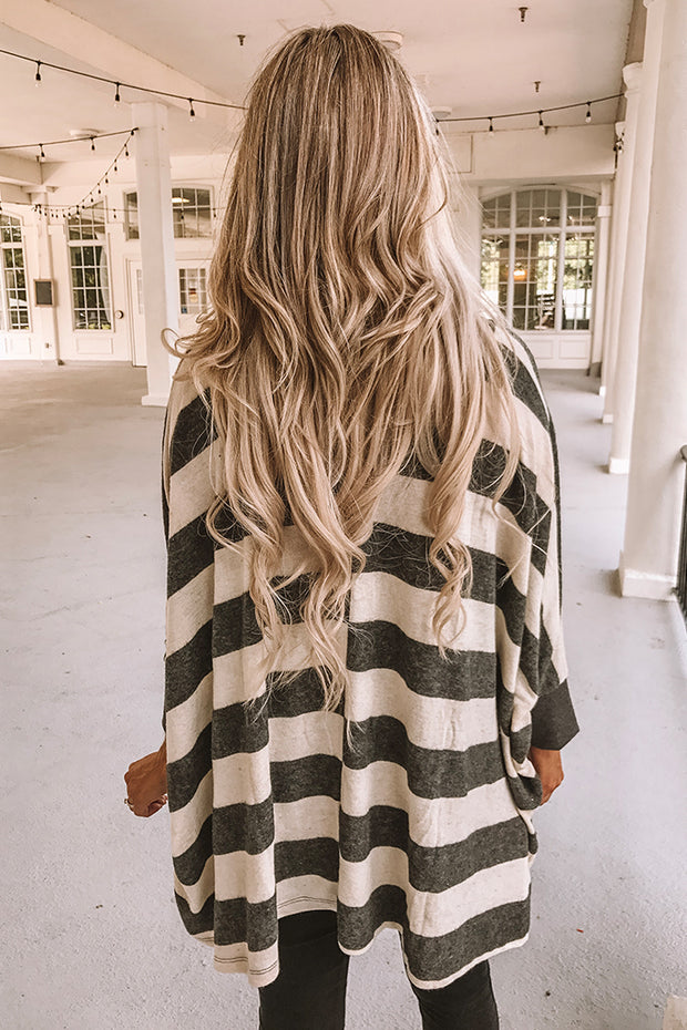 Striped Boho Soft Brushed Top