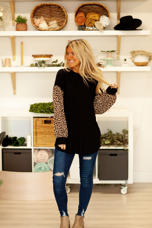 Animal Adventure Knit Top