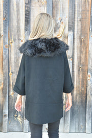Lavish Black Coat