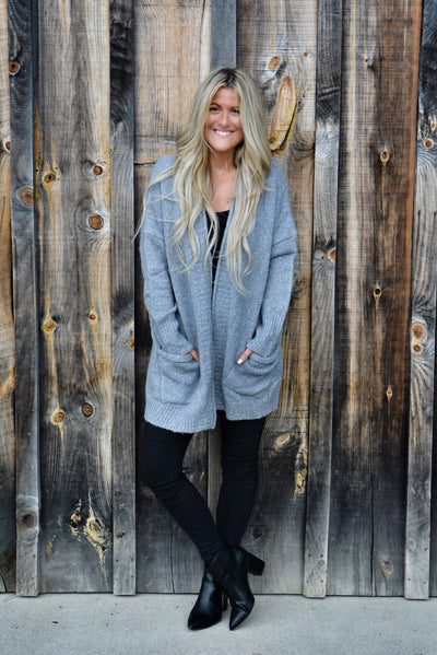 Classic Chunky Knit Cardigan