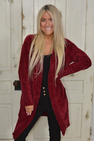 Spoil Me All Holiday Cardigan