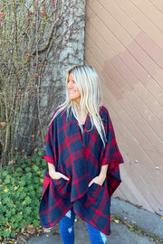 Gorgeous Shawl With Pockets-Promo Line