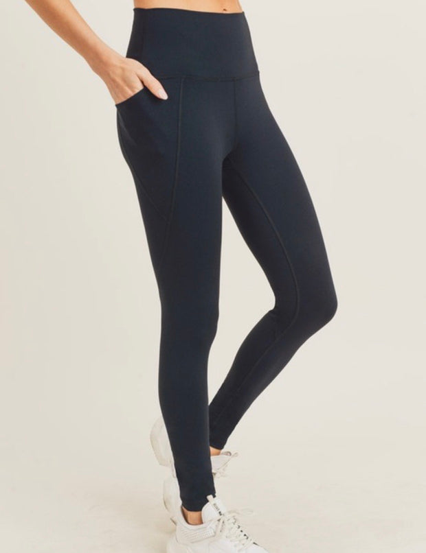 High Waisted Leggings With Side Pockets