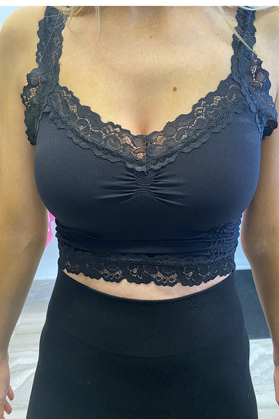Popular Crop Corset Lace Cami