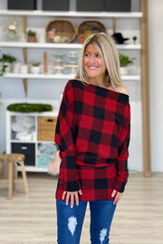 Buffalo Plaid Dreams Top