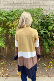 The Perfect Colourblock Cardigan