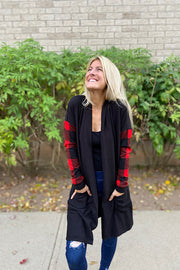 The Perfect Plaid Cardigan
