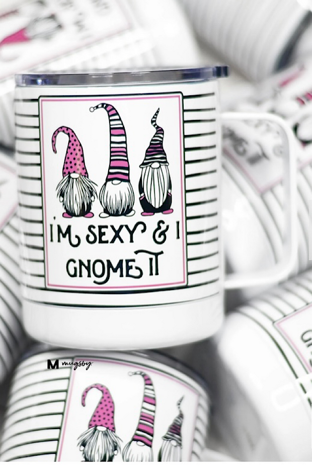 Gnome Stainless Steel Mug