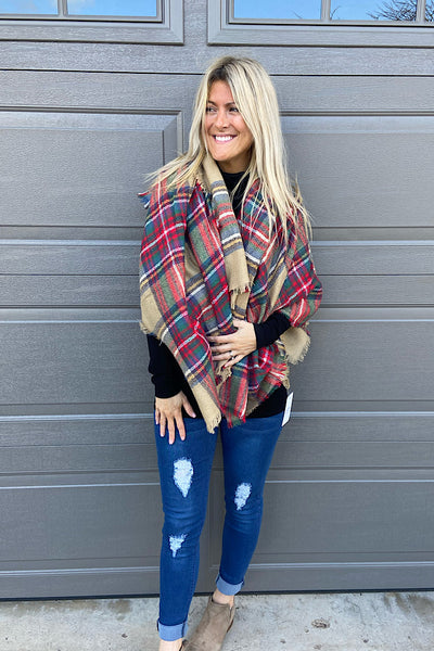 Blanket Scarves-Festive Mix
