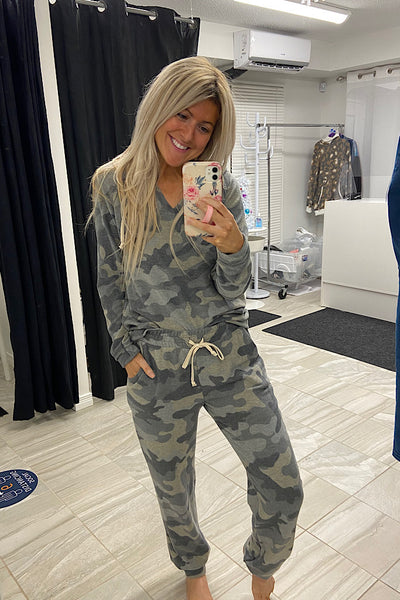 The Perfect Camo 2 Piece Jogging Set