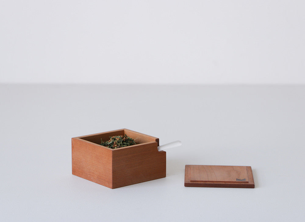Burnished Box with Spoon