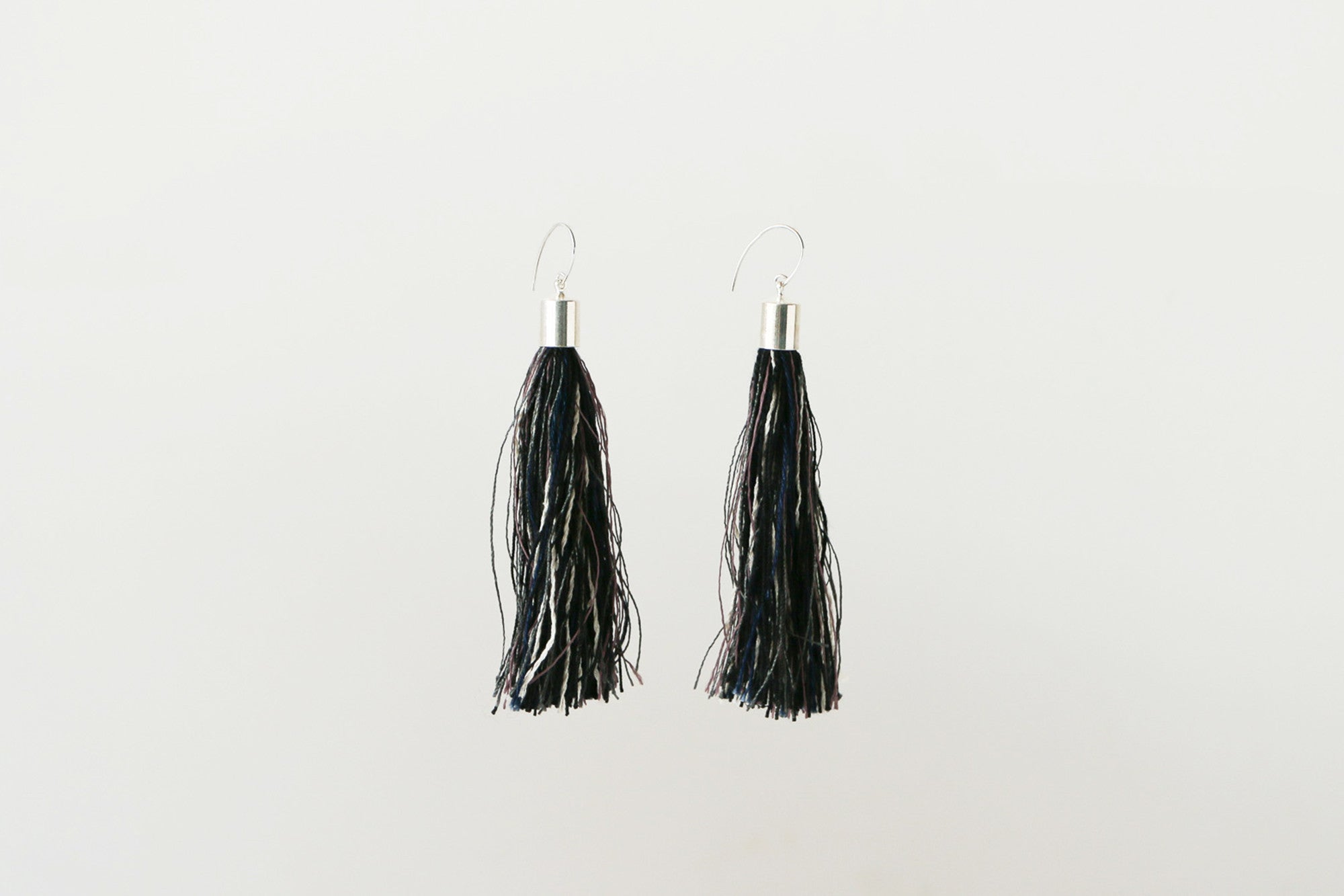 Tassel Earrings (Black)