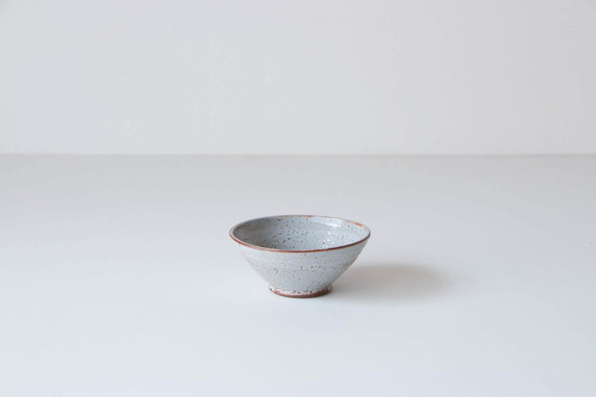 Gray glaze bowl