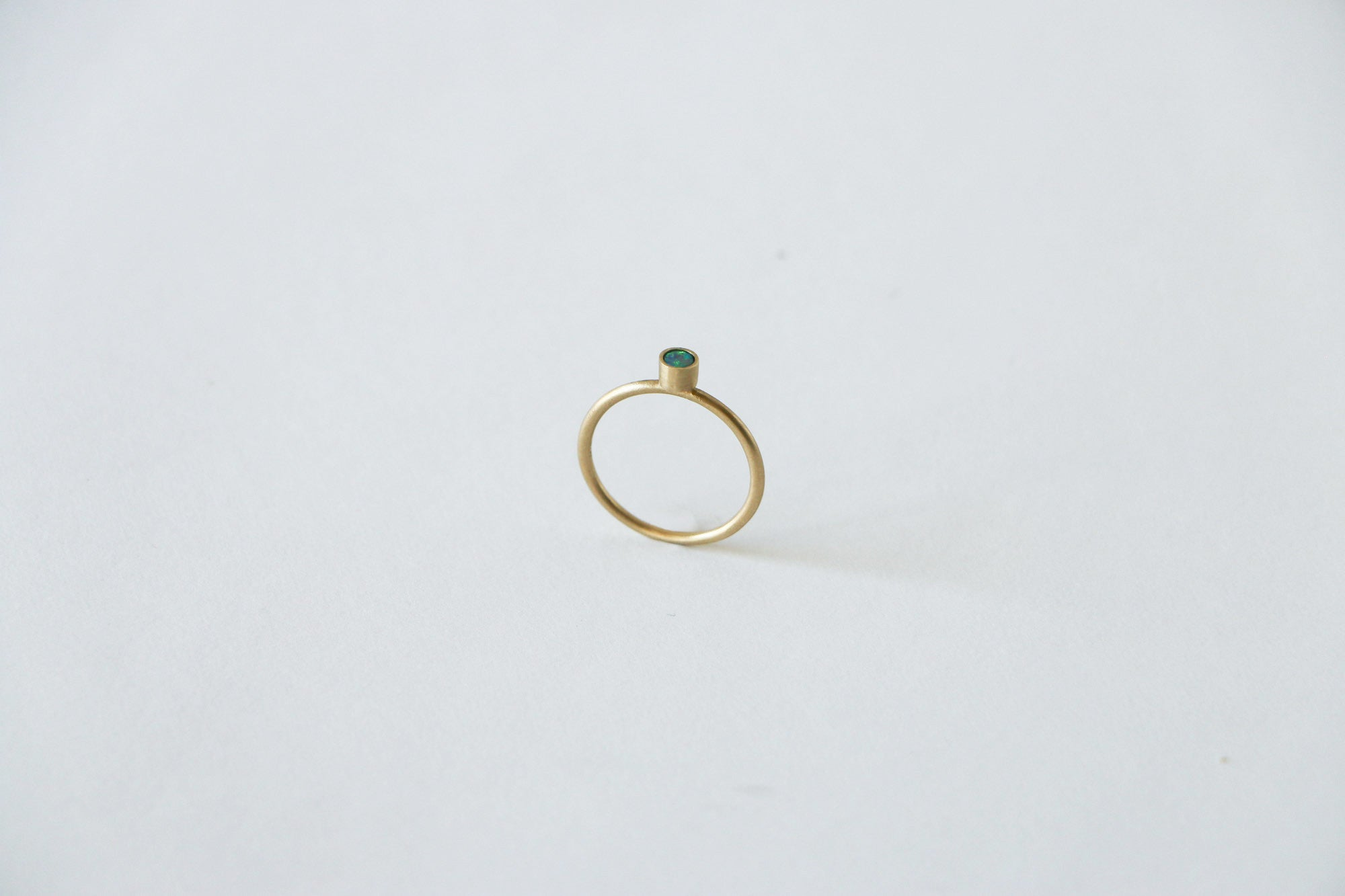 Golden Opal Element Ring