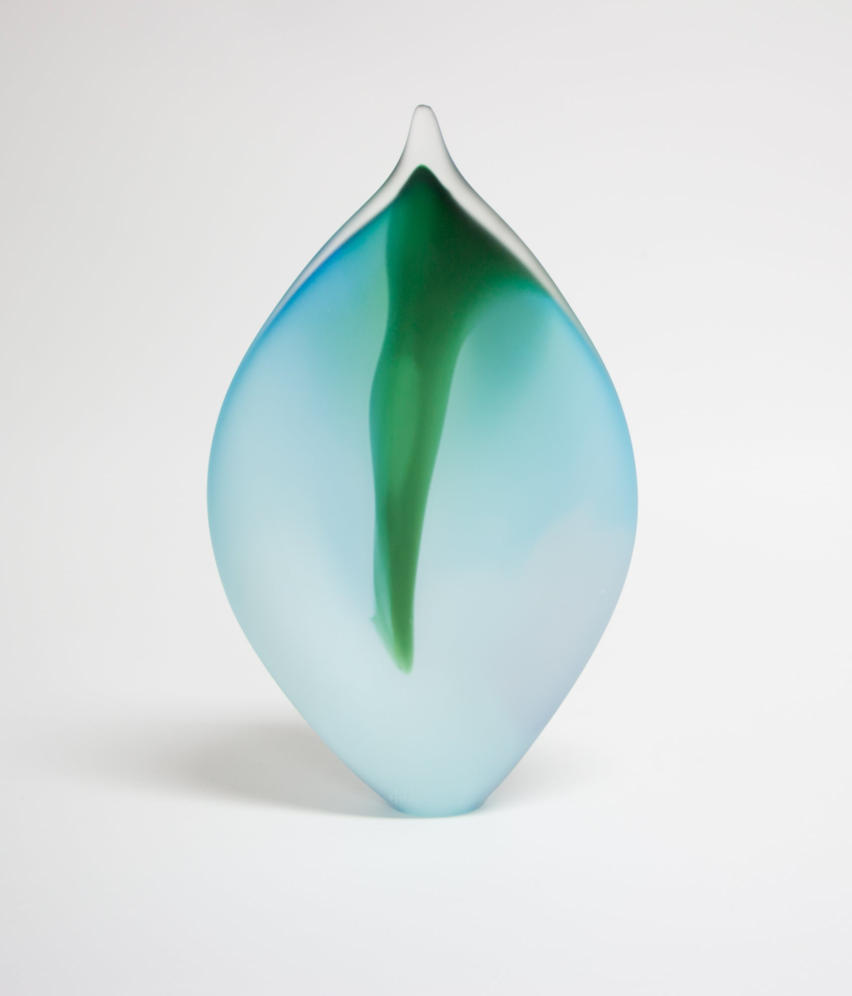 Blown Glass Leaves
