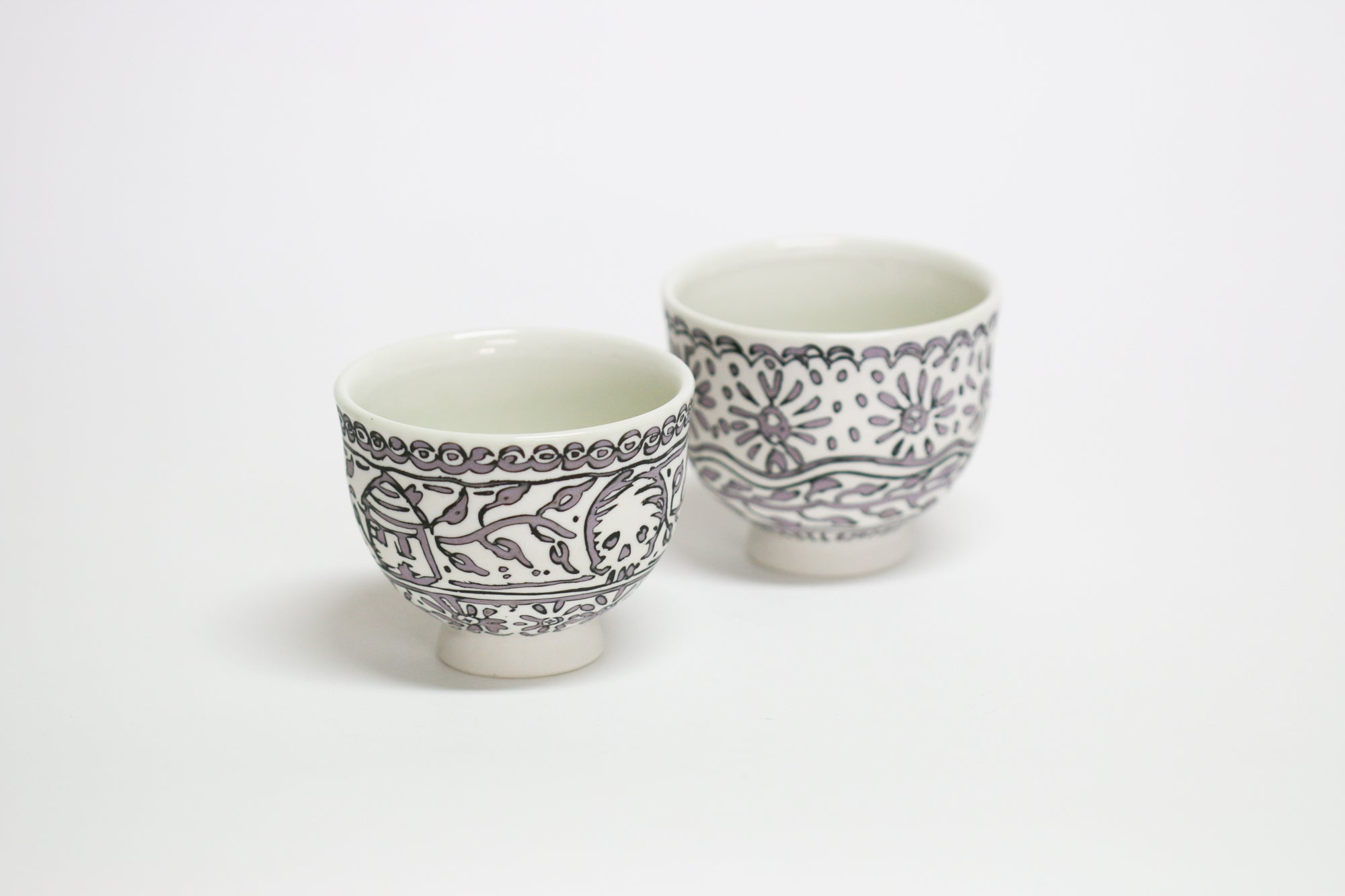 Inlay Porcelain Vessel