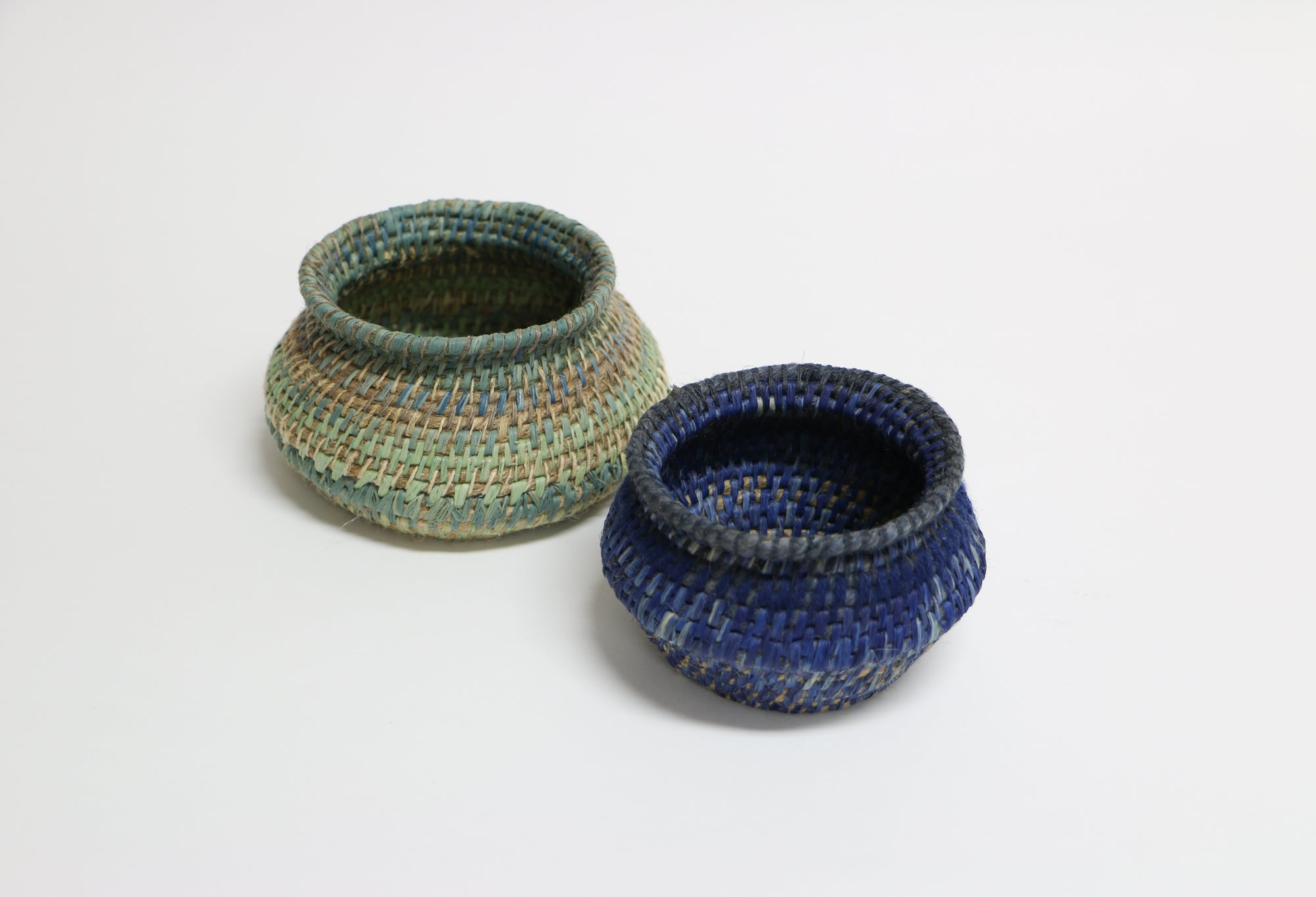 Hand Dyed and Woven Vessel