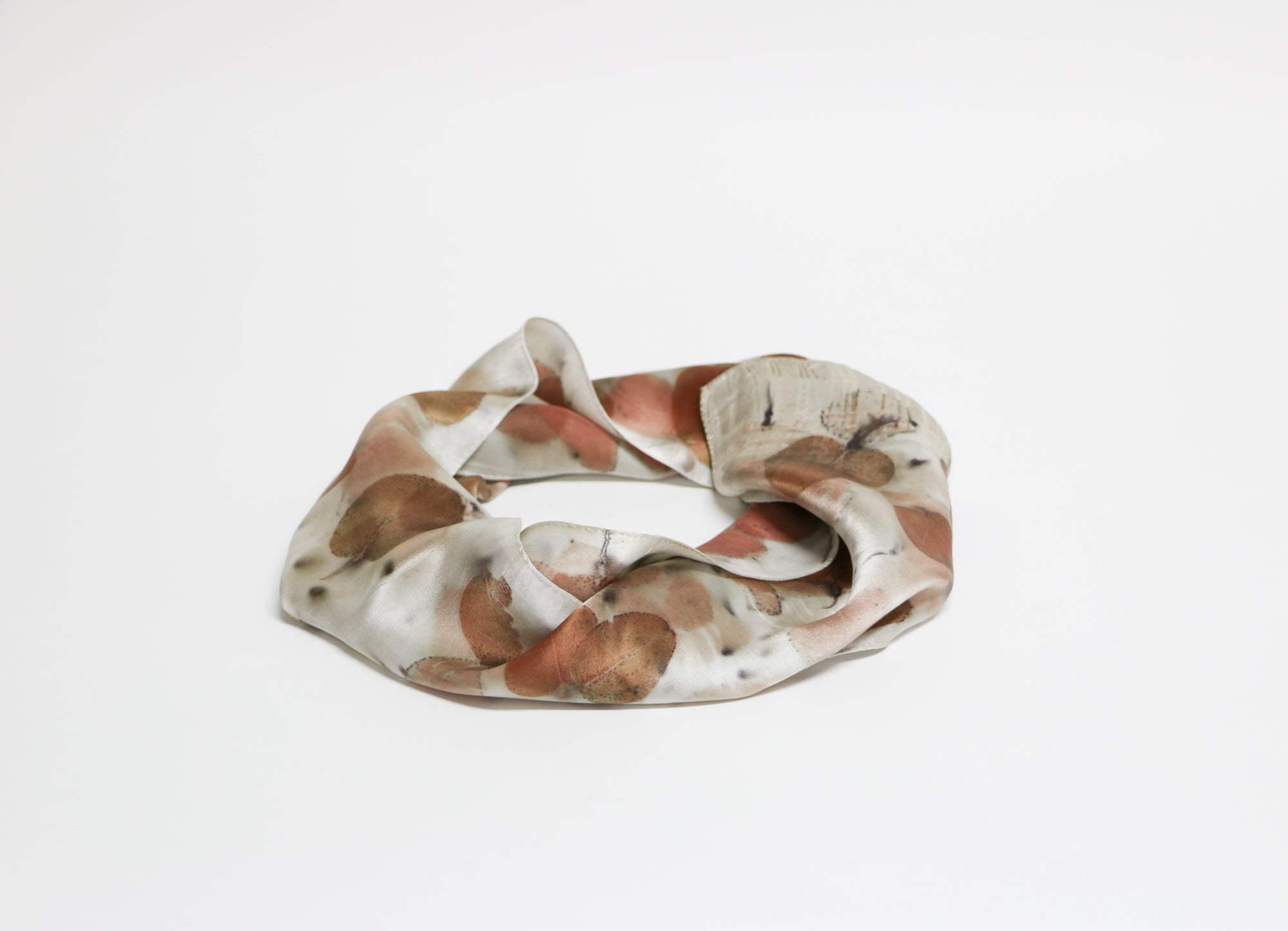 Hand Dyed Petite Silk Scarf
