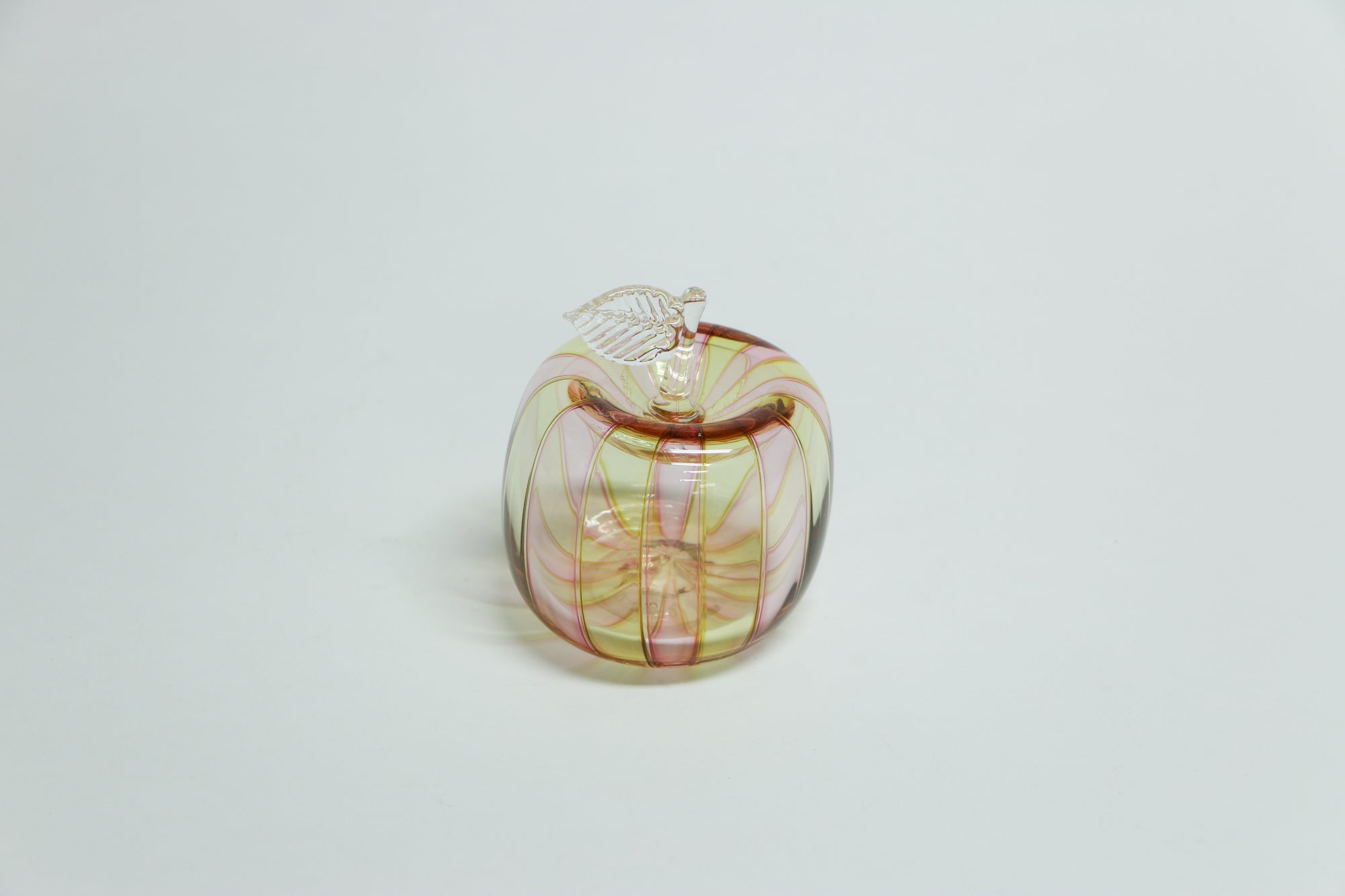 Blown Glass Cane Apple