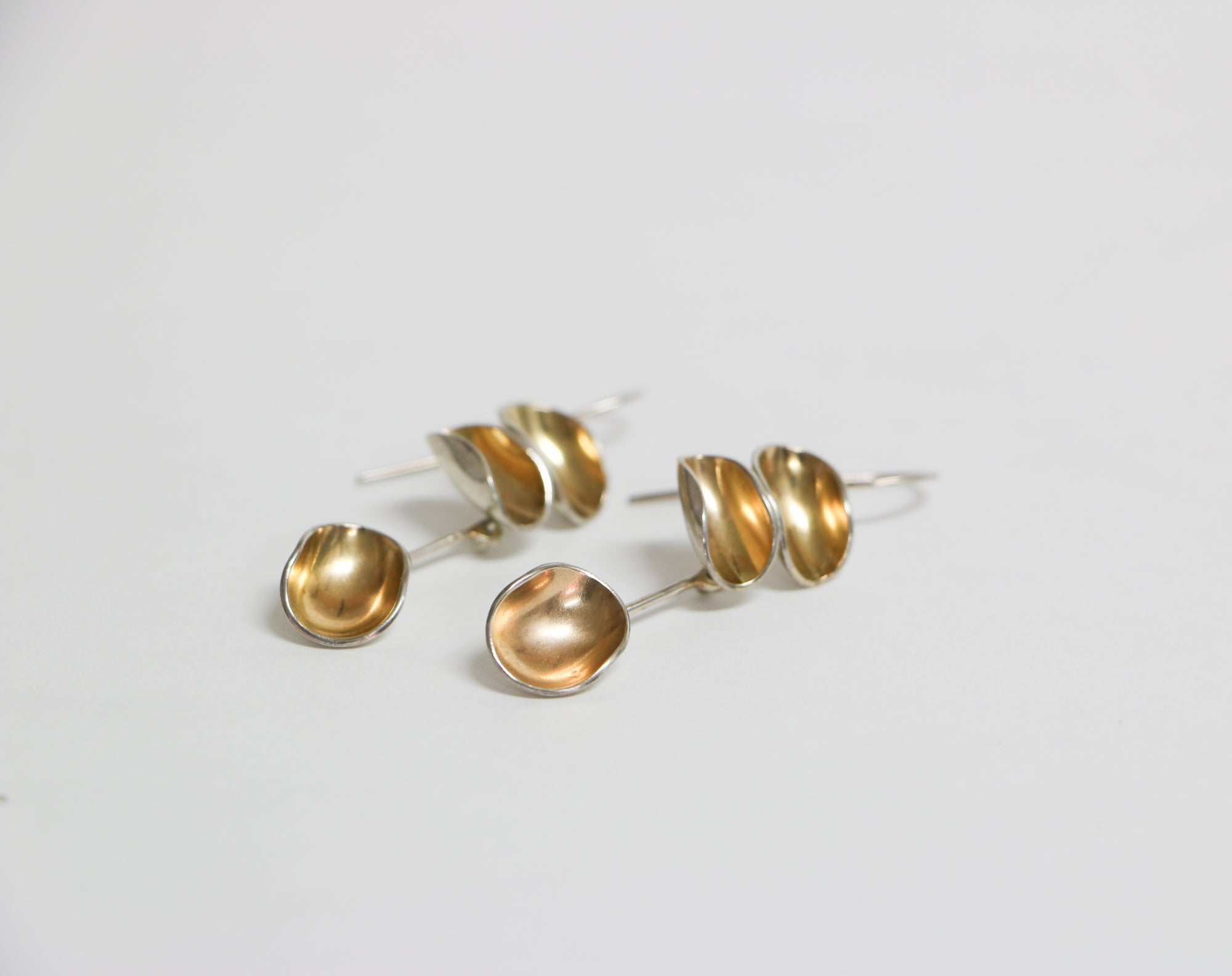 Cookeina Three Cup Earrings