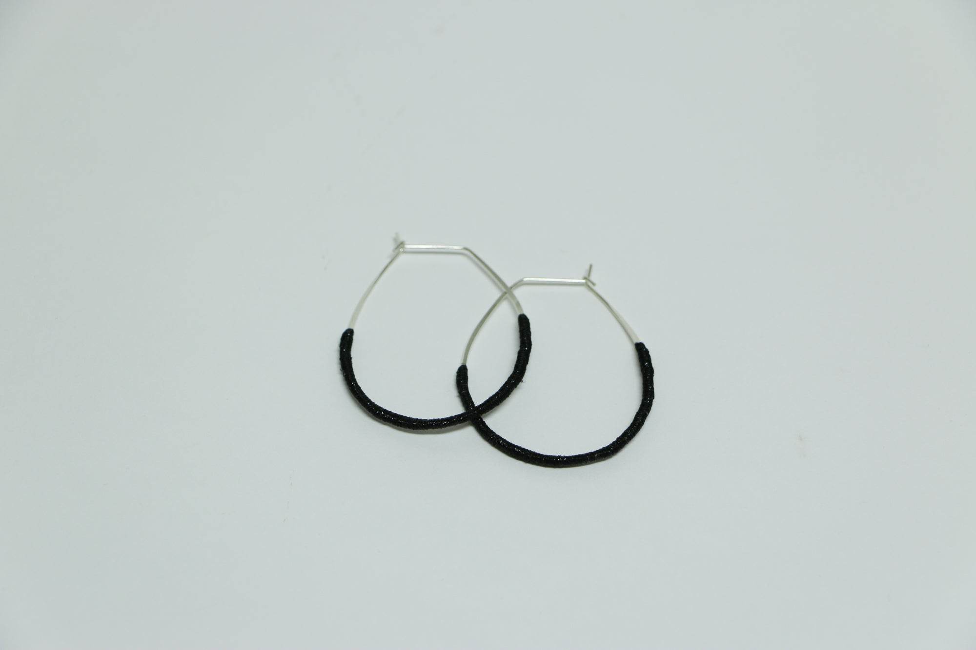 Wrapped Thread Earrings