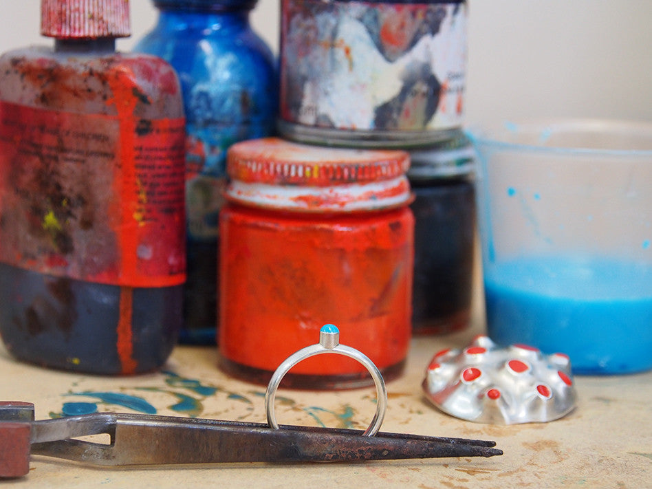 COLD ENAMELLING