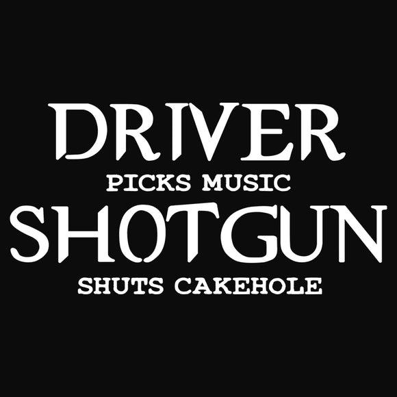 Shotgun shuts hit cakehole