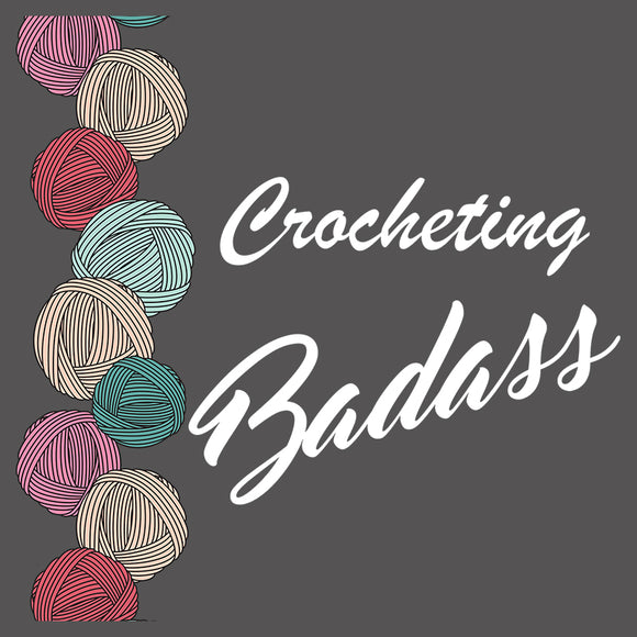 Crocheting Badass Border