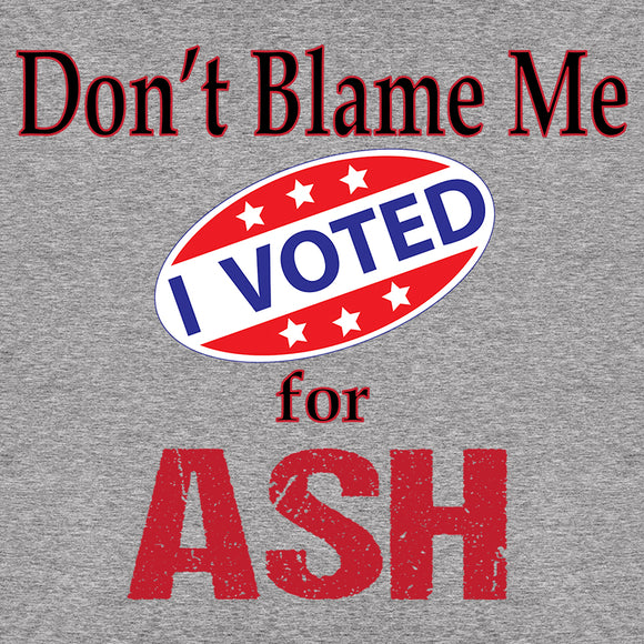 Voted for Ash